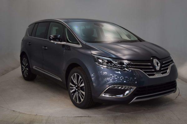 Renault Espace V DCI 160 ENERGY INITIALE PARIS EDC 7 PLACES 7 places – Toit Ouvrant – DVD- Cuir Brun – Peinture Métal Spéciale | Noir Améthyste | Véhicule Zéro KM