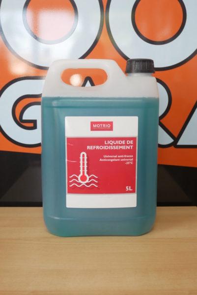 Liquide de refroidissement -25° Bidon de 5 L